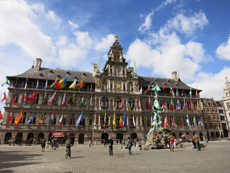Stadhuis Antwerp Belgium