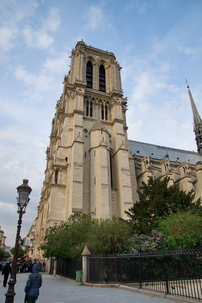 South Bell Tower Notre Dame Paris France