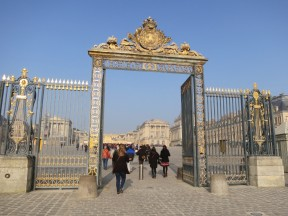 Entrance Gates in front of Versailles