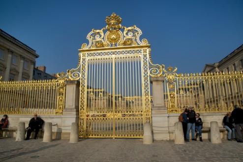 Front Gate Chateau de Versailles France
