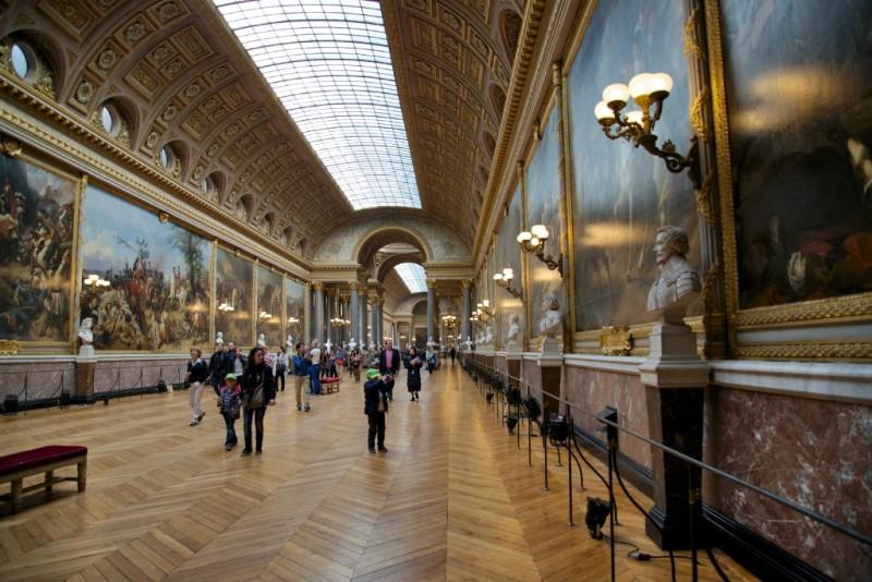 Gallery of Battles Chateau de Versailles France