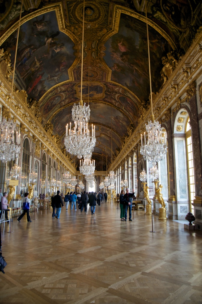 Hall of Mirrors Chateau de Versailles France