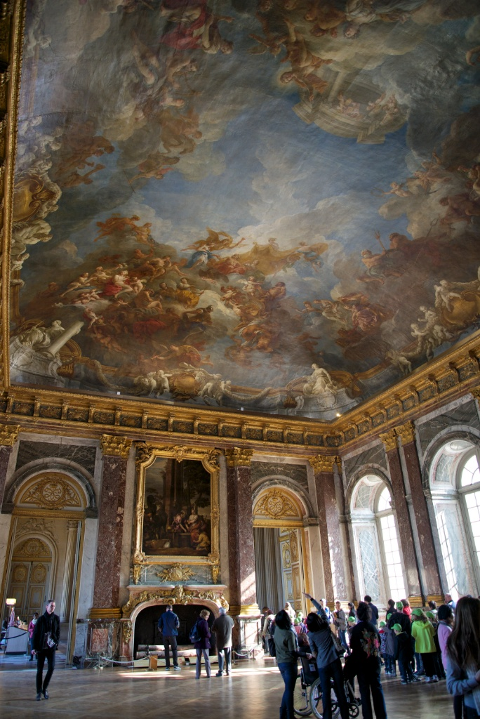 Hercules Salon Chateau de Versailles France
