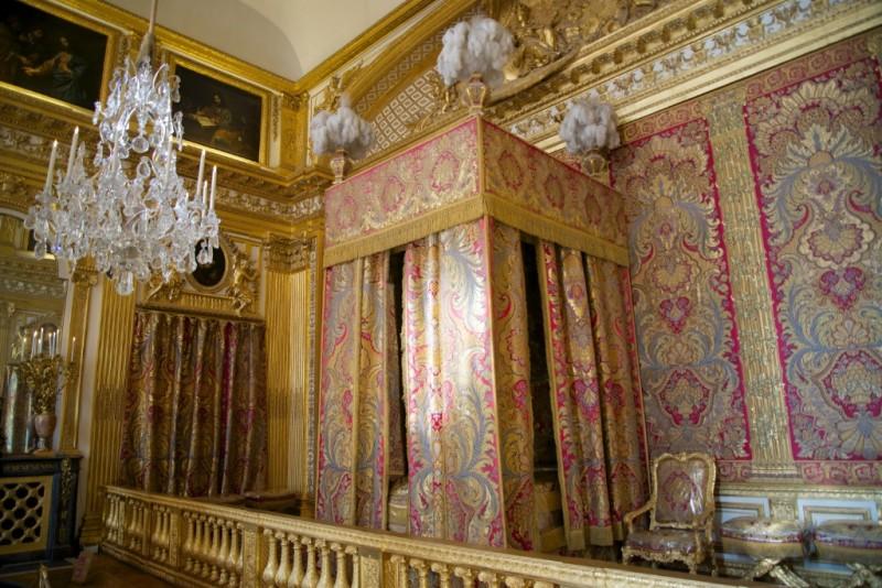 King's Bedchamber Chateau de Versailles France