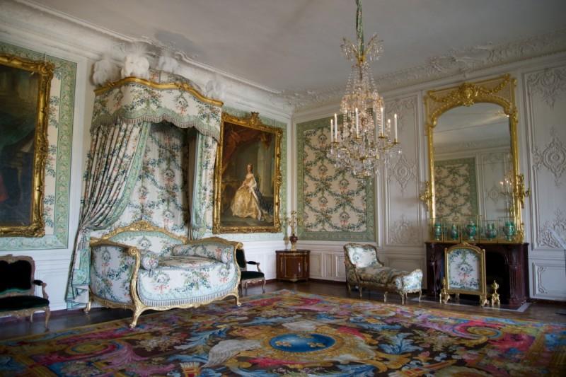 Madame Victoire's Bedchamber Chateau de Versailles France