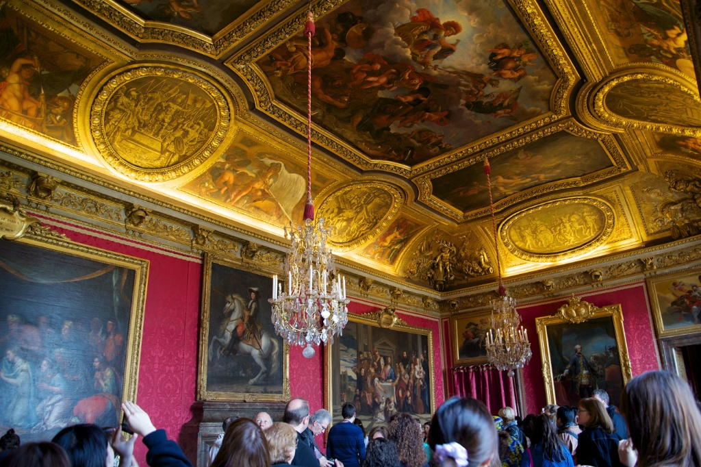 Mars salon chateau de versailles france for Salon de versailles