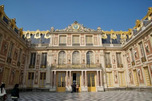 Mesdames' Apartments Entrance Chateau de Versailles France