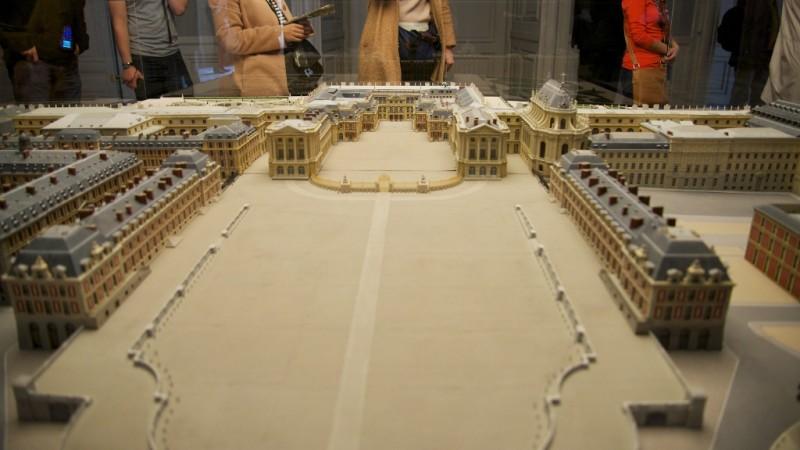 Model Chateau de Versailles France