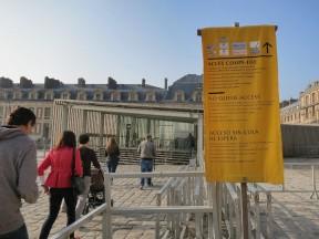 Paris Museum Pass Holders' Entrance Chateau de Versailles France