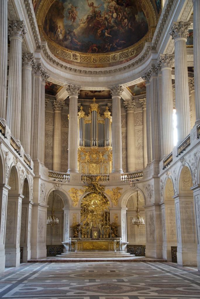 Royal Chapel Chateau de Versailles France