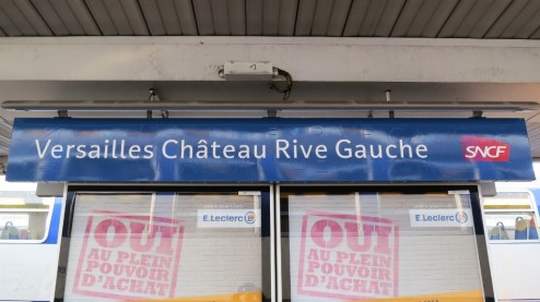 Station Versailles Chateay Rive Gauche