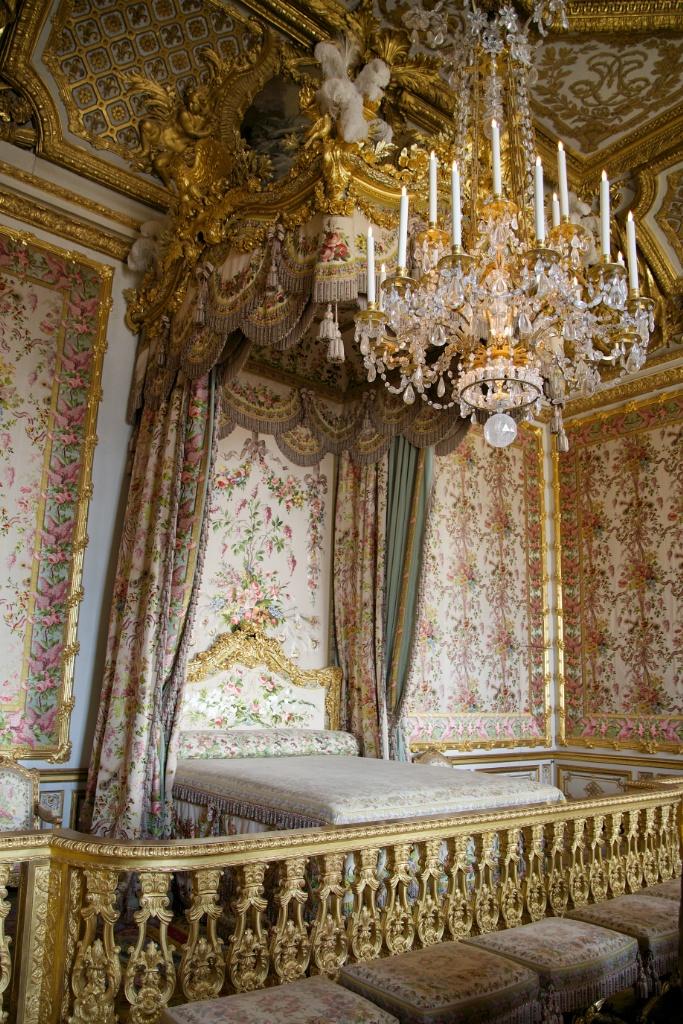 The Queen's Bedchamber Chateau de Versailles France