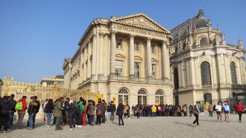 Ticket Line Chateau de Versailles France