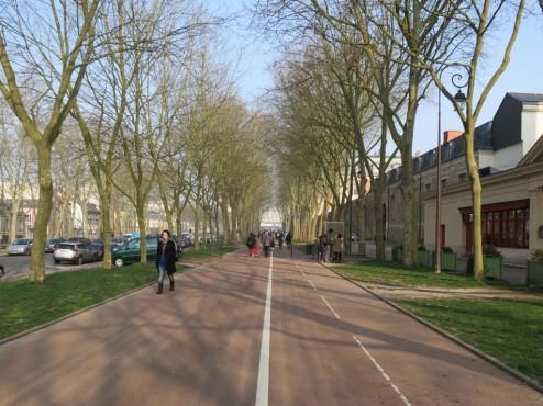 Pedestrian Pathway to Versailles
