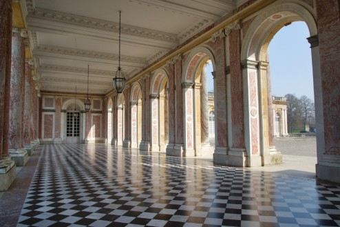 Arcaded Peristyle Grand Trianon Versailles Estate France