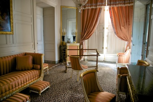 Boudoir of the Empress Grand Trianon Versailles Estate France