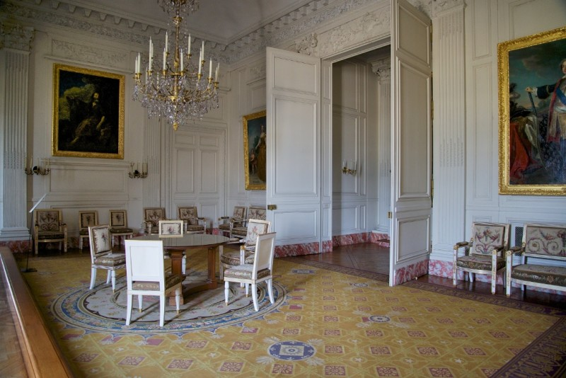 Chapel Salon Grand Trianon Versailles Estate France
