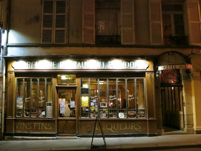 Cremerie Restaurant Polidor Exterior Paris France