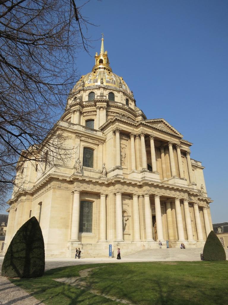 Golden Dome Musée de l'Armée Invalides Paris France