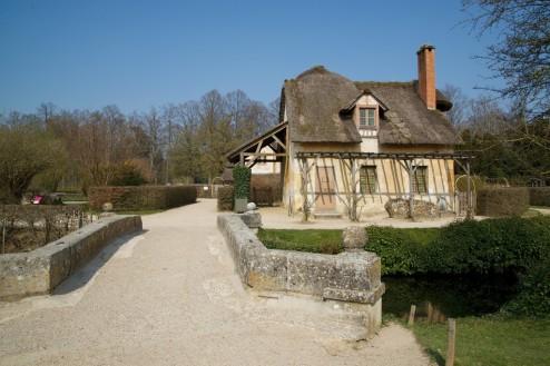 Dovecote in Marie Antoinette's Hamlet Versailles Estate France