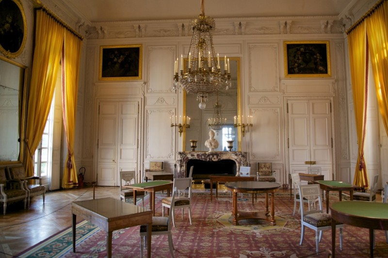 Emperor's Family Drawing Room Grand Trianon Versailles Estate France