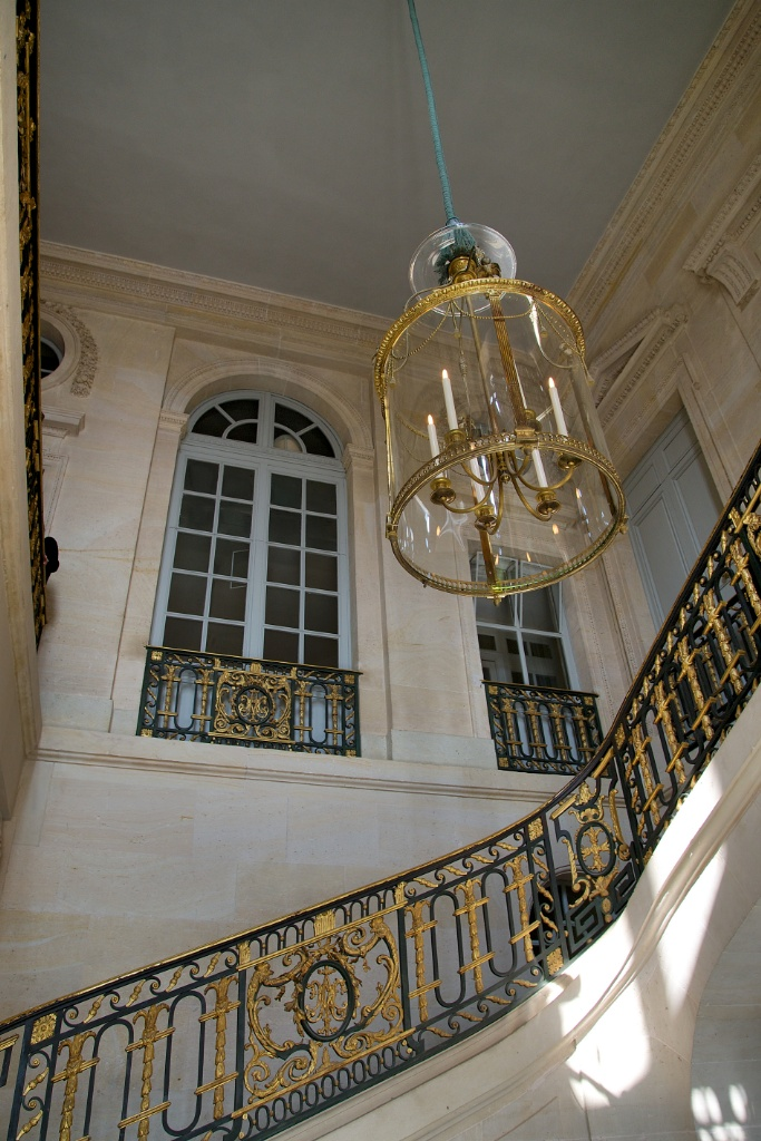 Grand Staircase Petit Trianon Versailles Estate France