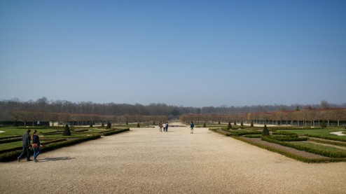 Grand Trianon Gardens Versailles Estate France