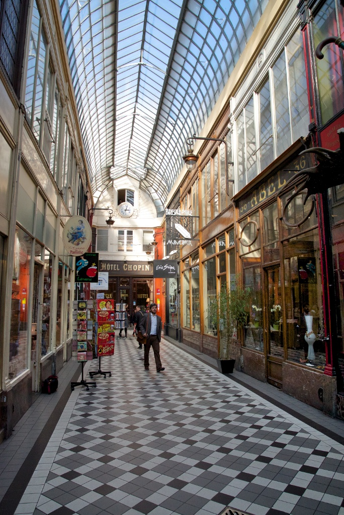 Hotel Chopin Paris Passage Jouffroy