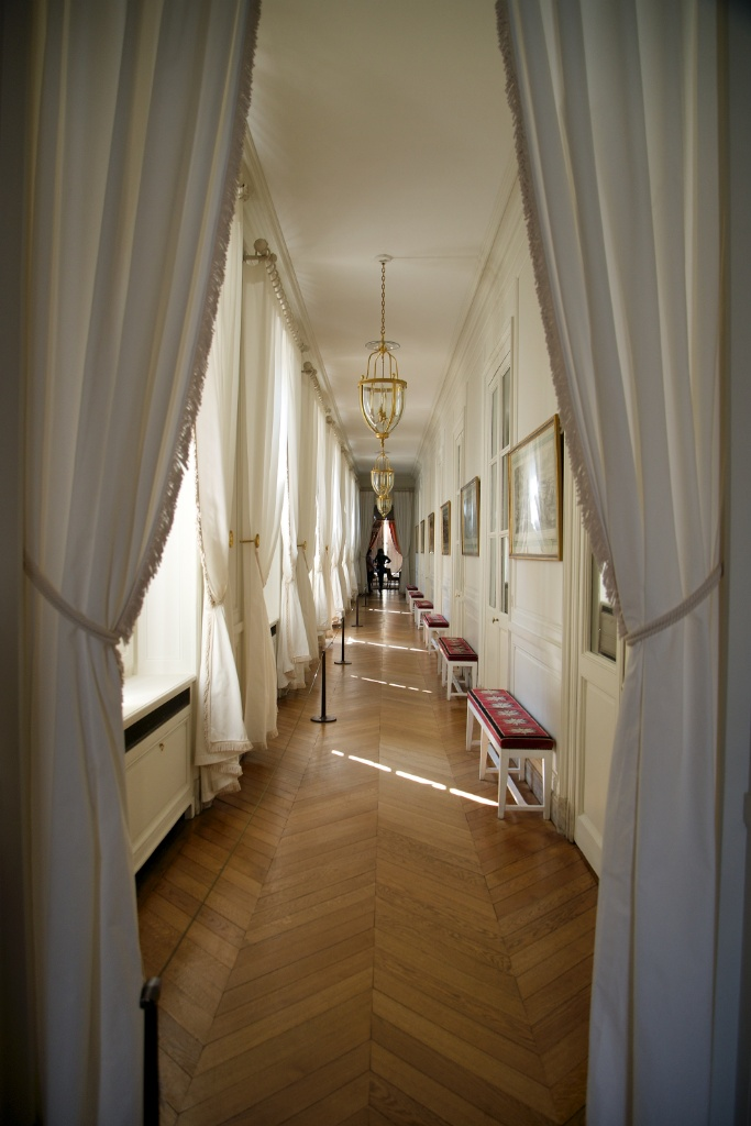 Left Wing Corridor Grand Trianon Versailles Estate France