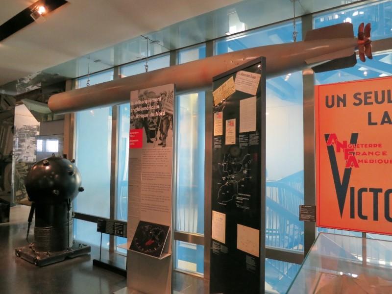 Mines and Torpedos Contemporary Exhibit Musée de l'Armée Invalides Paris France