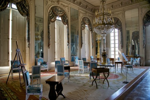 Mirrors Salon Grand Trianon Versailles Estate France