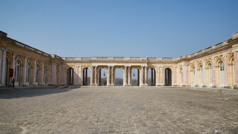 Peristyle and Courtyard Grand Trianon Versailles Estate France