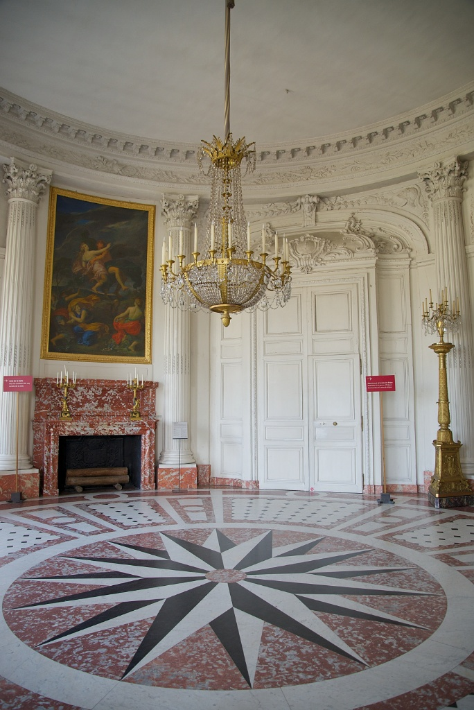 Round Salon Grand Trianon Versailles Estate France