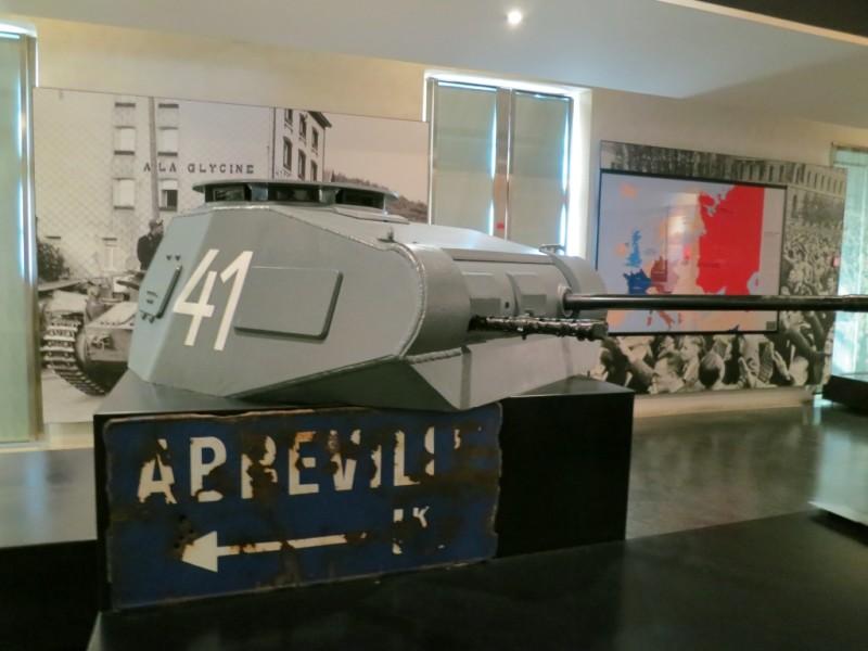 Tank Turret Contemporary Exhibit Musée de l'Armée Invalides Paris France