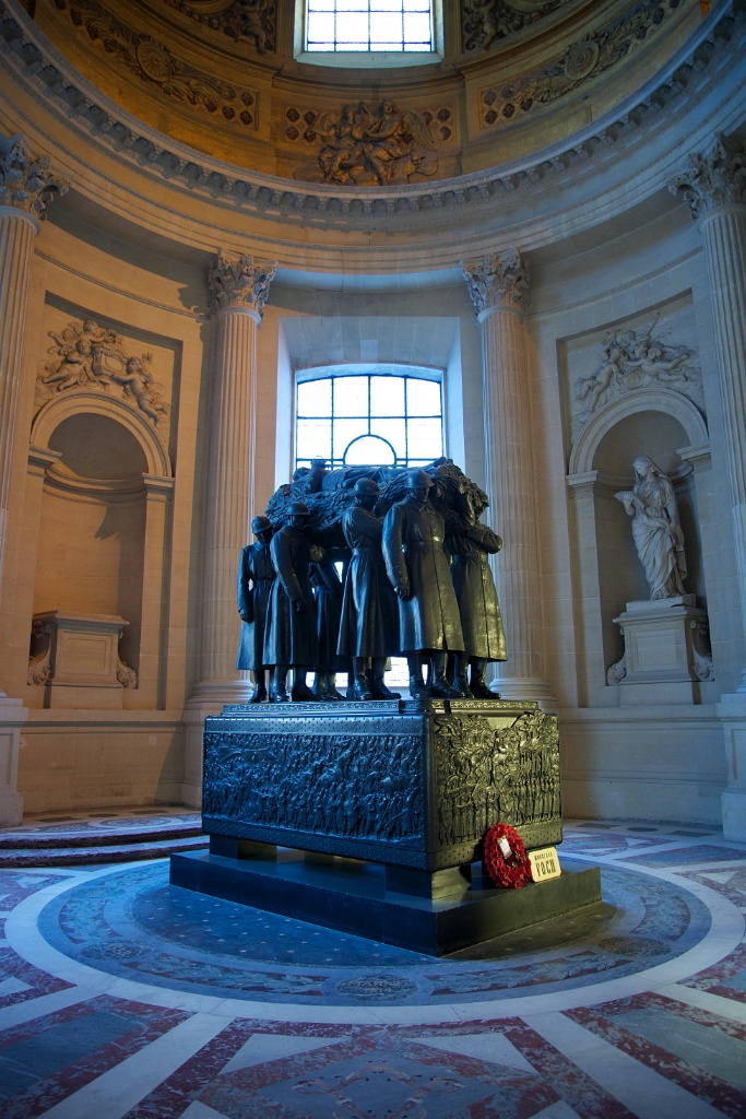 Tomb of French Marshal Ferdinand Foch Dome Chapel Les Invalides Paris France