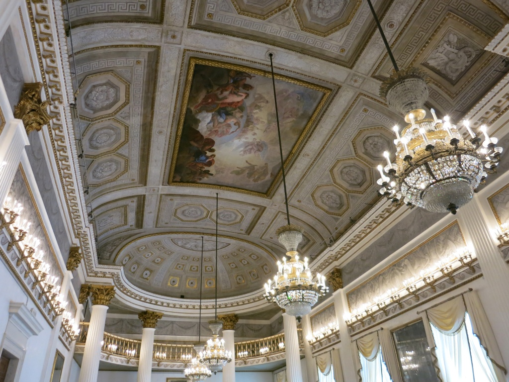 Ballroom ceiling and chandeliers museo correr venice italy full size 1024px 768px arubaitofo Choice Image