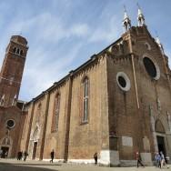 Basilica dei Frari Exterior Venice Italy