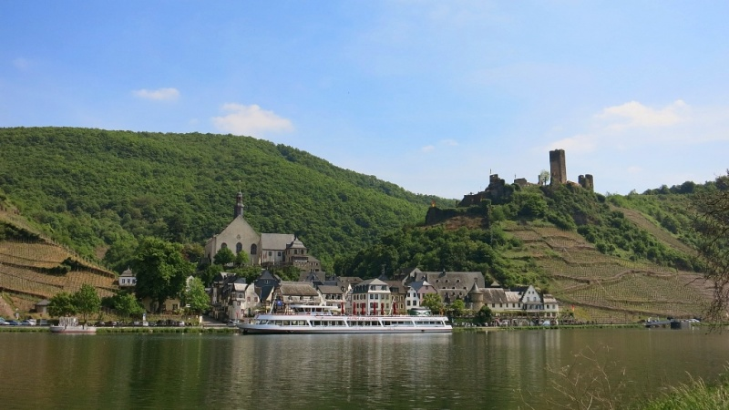 Beilstein Mosel Wine Region Germany