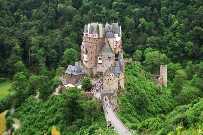 Burg Eltz Mosel Wine Region Germany