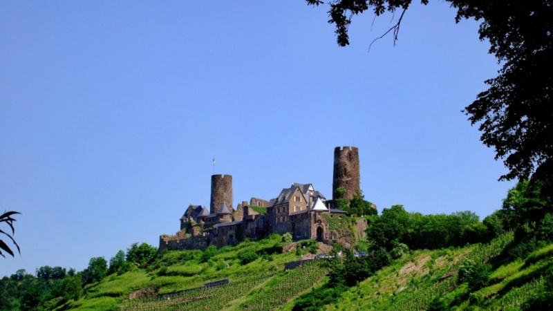 Burg Thurant Mosel Wine Region Germany