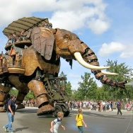 Le Grand Éléphant Les Machines de l'Île Nantes France