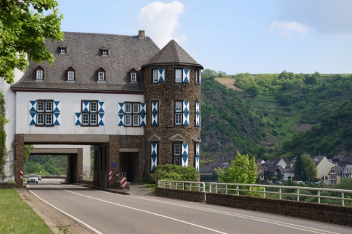 Schloss Gondorf Kobern Mosel Wine Region Germany