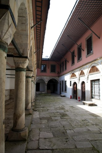 Apartments of the Sultan's Favorite Wives Harem Topkapı Palace Istanbul Turkey