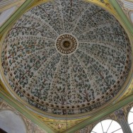 Decorated Dome Apartments of the Queen Mother Harem Topkapı Palace Istanbul Turkey