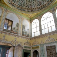Dome and Painted Walls Apartments of the Queen Mother Harem Topkapı Palace Istanbul Turkey