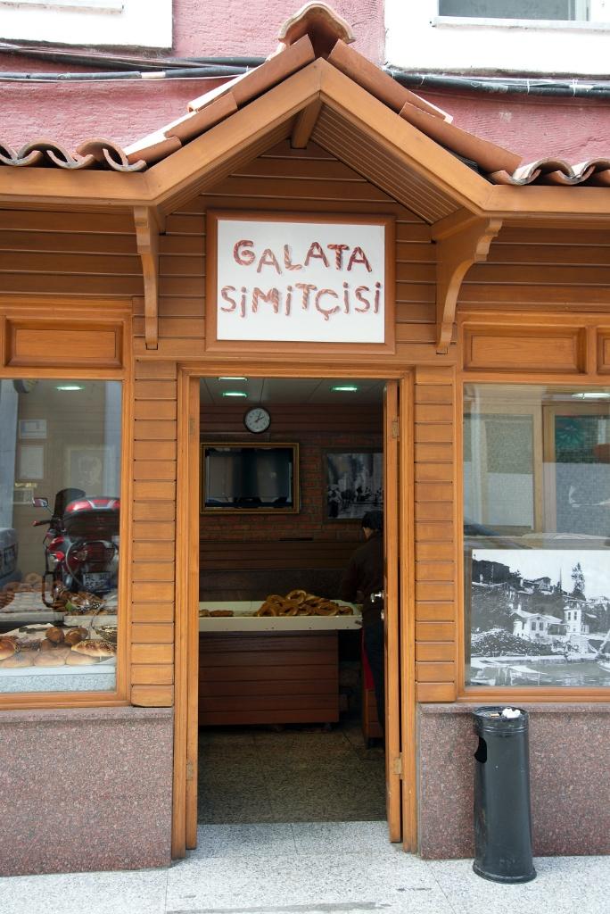 Galata Simitcisi Entrance Istanbul Turkey