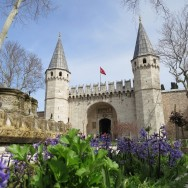 Gate of Salutation Topkapi Palace Istanbul Turkey