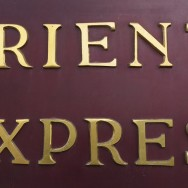 Orient Express Sign Sirkeci Train Station Istanbul Turkey