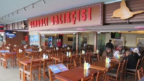 Osmanli Balikcisi Fish Restaurant Galata Bridge Istanbul Turkey