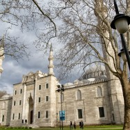 Suleymaniye Mosque Exterior View Istanbul Turkey